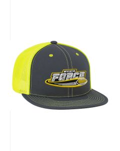 Neon Yellow Mesh Cap